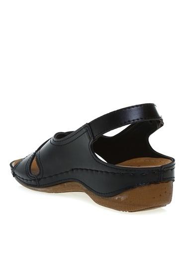 Cotton Bar Cotton Bar Siyah Sandalet Siyah